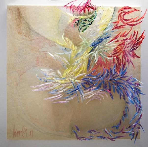 Έκθεση έργων της Ελπινίκης Καμόσου στο «Χώρο Τέχνης δ