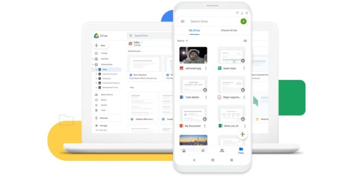 Google Drive: Tο πρώτο App με το Splash Screen του Android 12