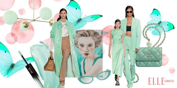 Where Is My… Mint: 12 αγορές στο χρώμα της μέντας, το πιο ενδιαφέρον Color Trend του καλοκαιριού