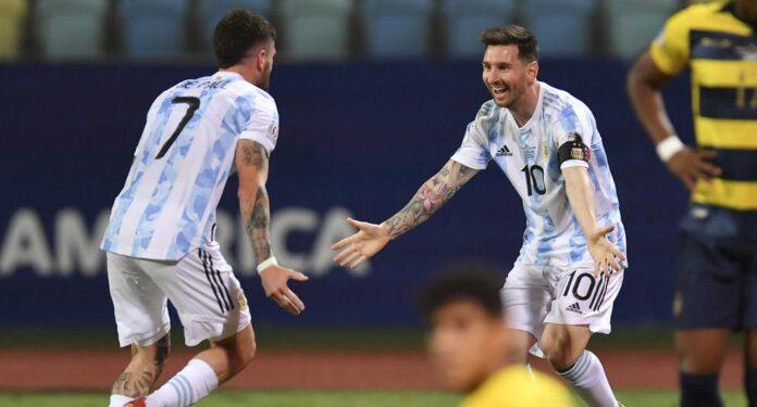 Αργεντινή – Εκουαδόρ 3 0: Ο Μέσι έστειλε στα ημιτελικά την Αλμπισελέστε