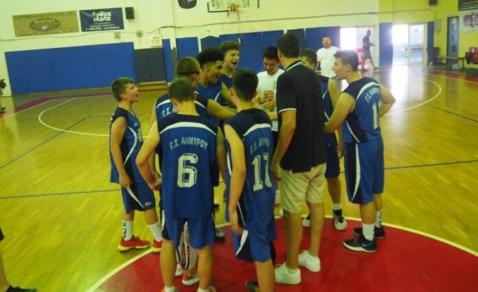 ΓΣ Αλμυρού: Τα εύσημα στην ομάδα μπάσκετ Κ16