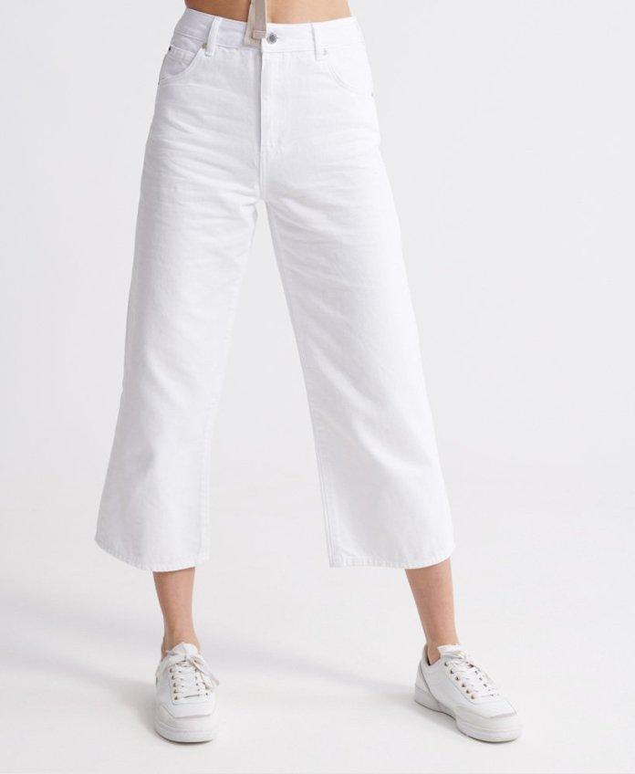 Superdry Wide Leg Crop Jeans 1