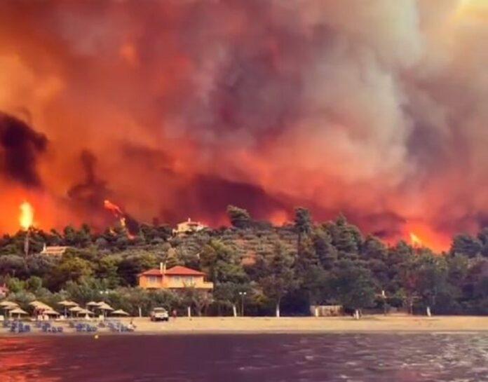 Συγκλονιστική μαρτυρία: Πώς σώθηκα με πλοίο από τη φωτιά στην Εύβοια