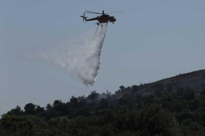 Φωτιά στη Μεσσηνία – Νέο μήνυμα του 112 για εκκένωση οικισμών