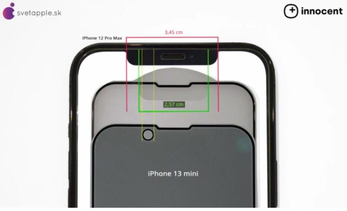 iPhone 13 Pro notch leaked