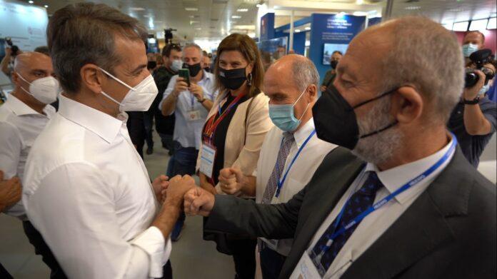 ΔΕΘ: Στο περίπτερο του Πανεπιστημίου Θεσσαλίας ο πρωθυπουργός Κ
