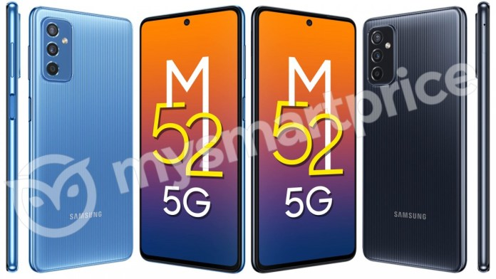Samsung Galaxy M52 5G: Μοτίβο πίσω και 120 Hz στην οθόνη