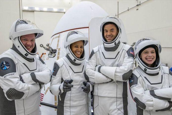 Space X Tourists