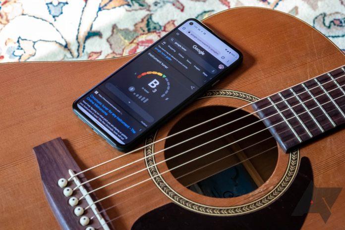 Τώρα μπορείς να κουρδίσεις την κιθάρα σου με το Google Search