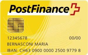 Bezahlen mit PostCard