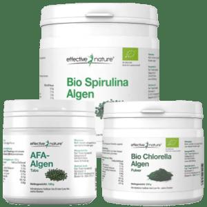 Chlorella Spirulina AFA Algen kaufen