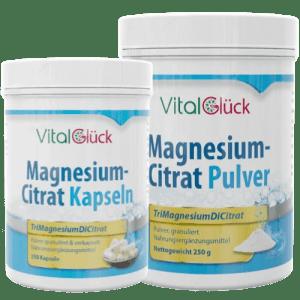 Magnesiumcitrat Pulver Kapseln Trimagnesiumdicitrat kaufen Schweiz