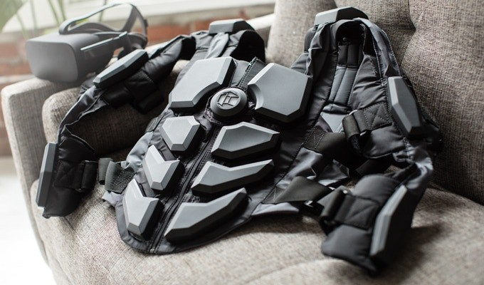 Hardlight VR Suit - Don't Just Play the Game. Feel it.