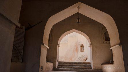 Wnętrze fortu