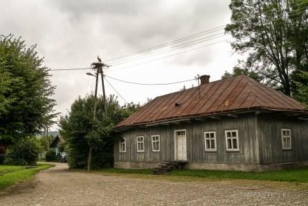 Mrzygłód - zabytkowa architektura drewniana
