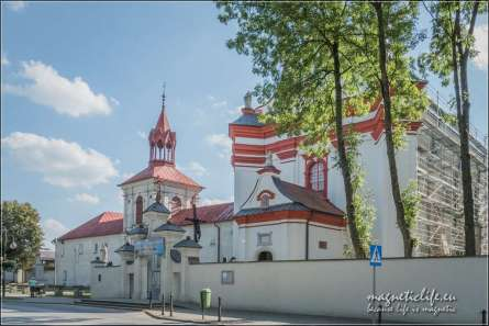 Krasnobród kościół Nawiedzenia Marii Panny