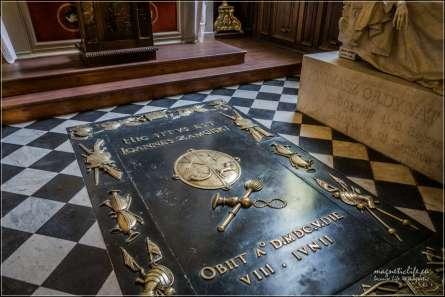 Zamość Katedra grób Jana Zamoyskiego