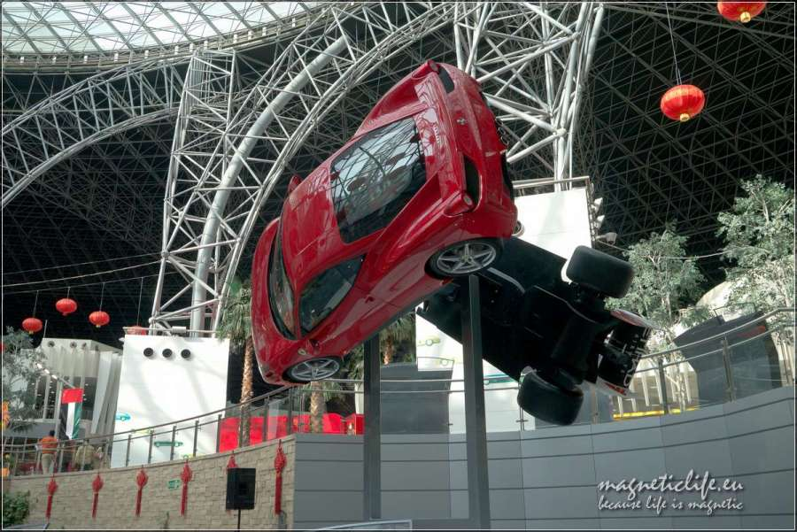 Kręcące się Ferrari