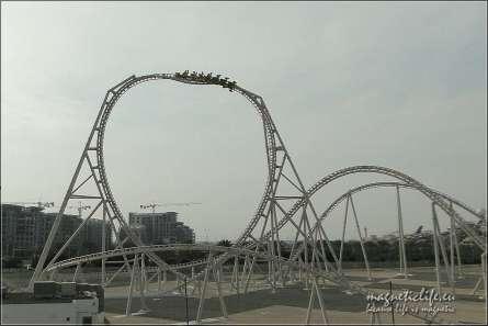 Roller coaster wAbu Dhabi