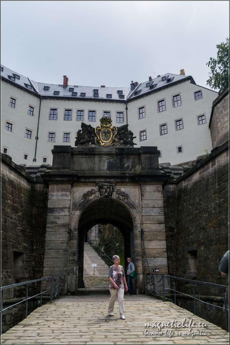 Twierdza Königstein Brama wjazdowa