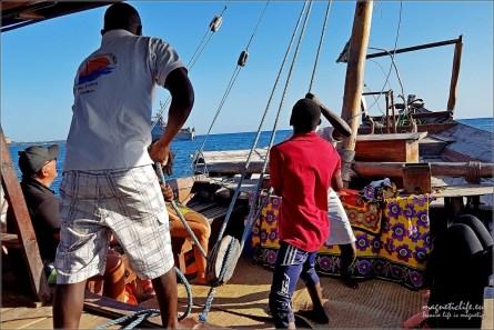 Zachodnie wybrzeże Zanzibaru. Czas postawić żagle