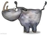 Nashorn cartoon