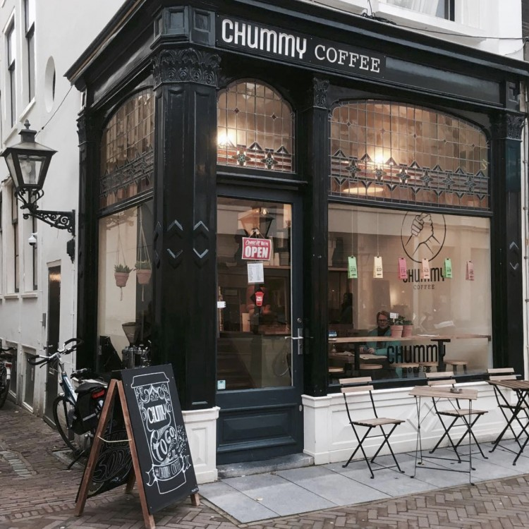 chummy - coffee - Leiden - coffee - study - places - breestraat