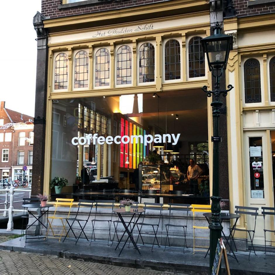 coffee - company - Delft -study - places