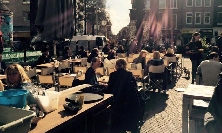 Studentenkroeg het Paardje in Amsterdam
