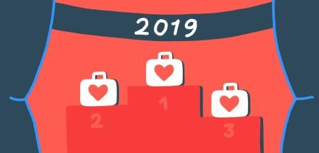 Top 100 banen in 2019