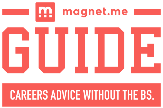 Magnet.me Guide careers advice without the bullshit logo transparent small
