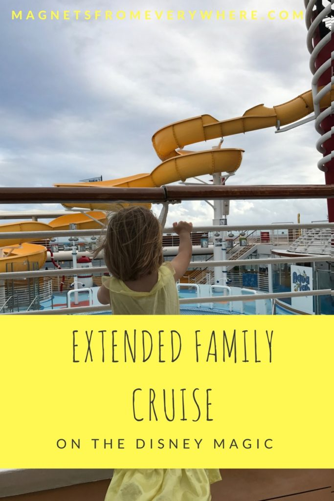 Disney Magic Cruise with the Extended Family