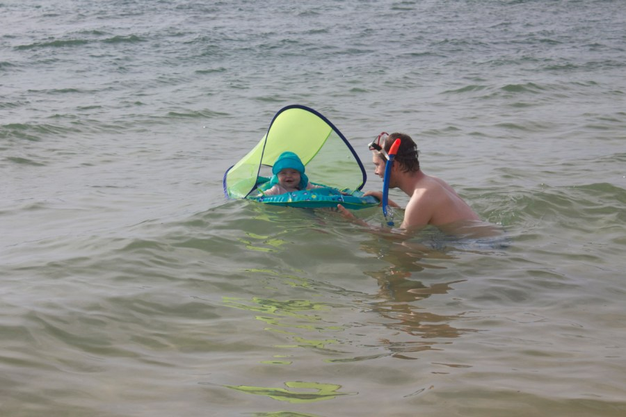 Hawaii with a baby and her water supplies