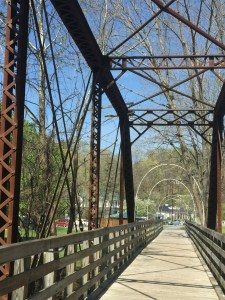 Virginia Creeper Trail Bridge in Damascus