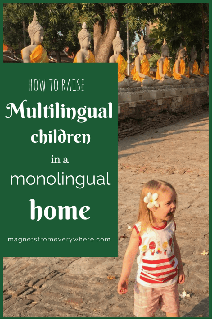 How to raise multilingual children in a monolingual home
