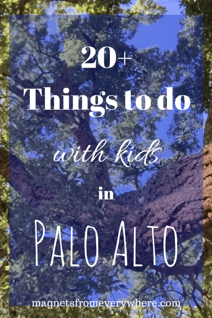 Things to do in Palo Alto with kids