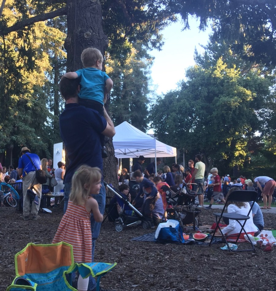 Summer Music Series with kids in Menlo Park