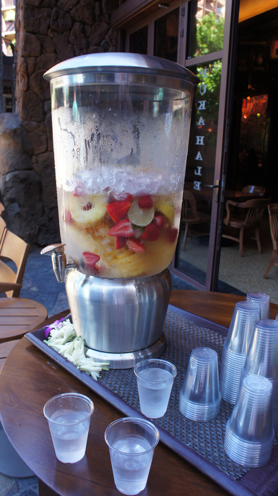 Aulani Fruit Infused Water