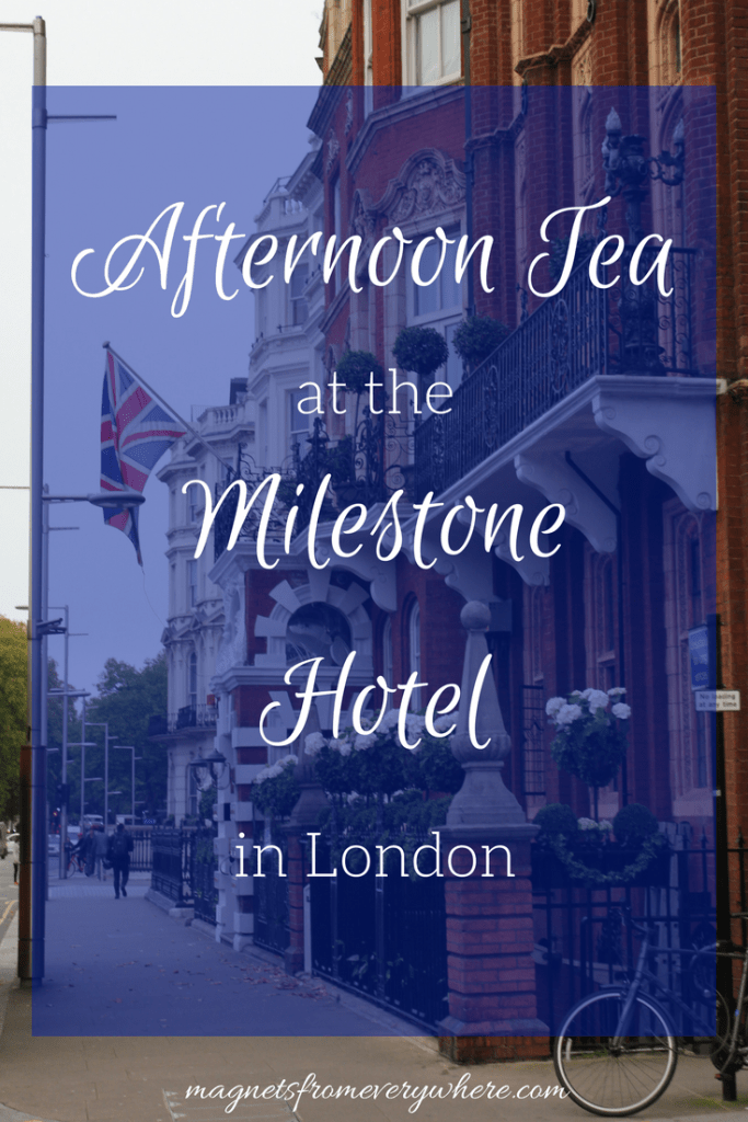 Milestone Hotel Afternoon Tea Review