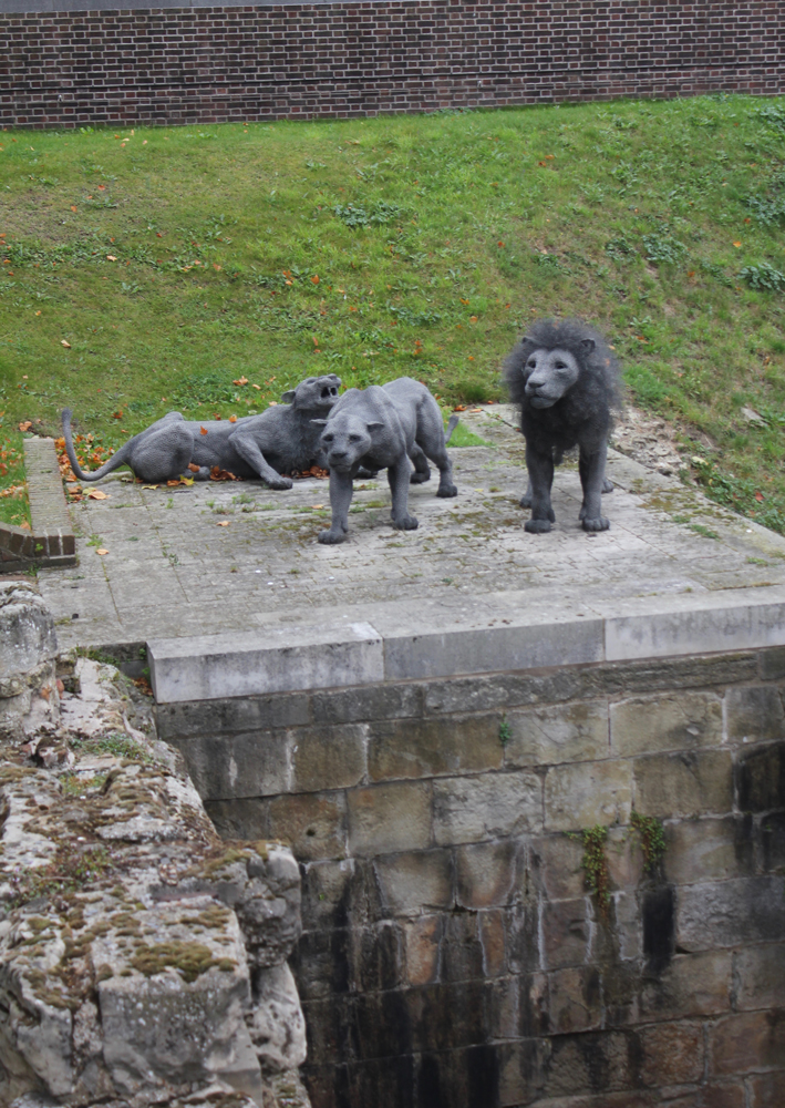 Lions at the Tower of London