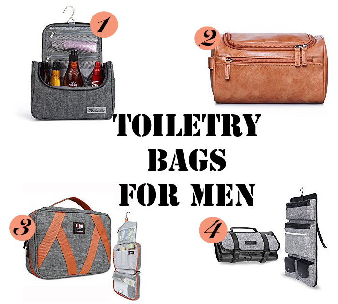 Toiletry bags gift ideas for men who travel
