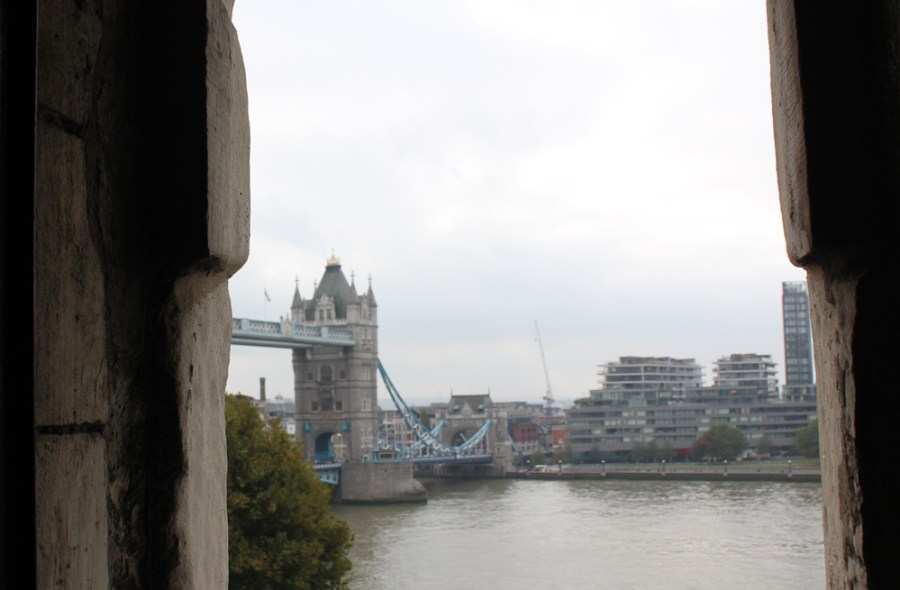 The Tower Bridge from the White Tower