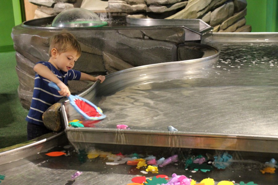 Water play at the Children's Museum of Atlanta