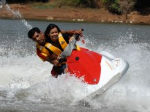 Jet Skiing In Lavasa