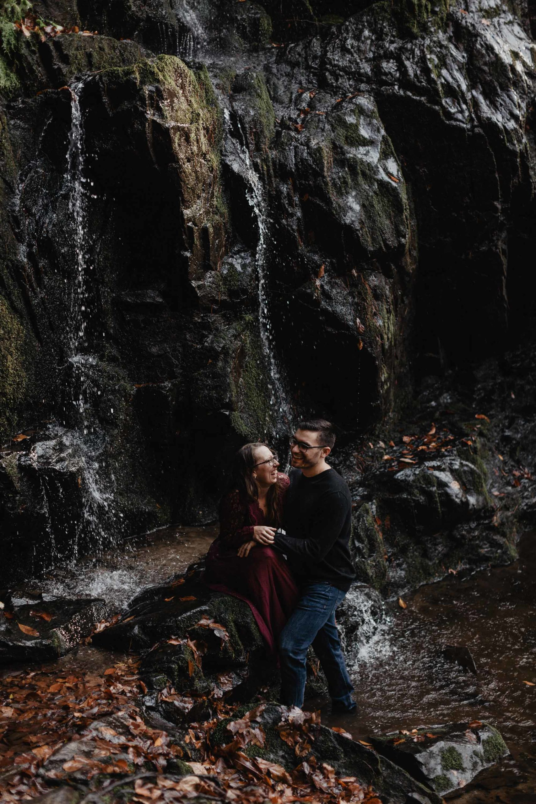 Adventure Engagement Photos in Smoky Mountains