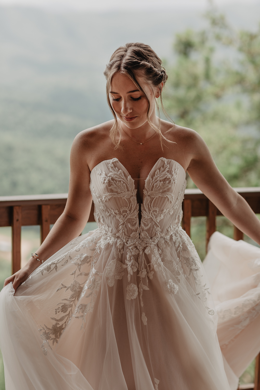 Martina Liana Bridal Designs Wedding Dress