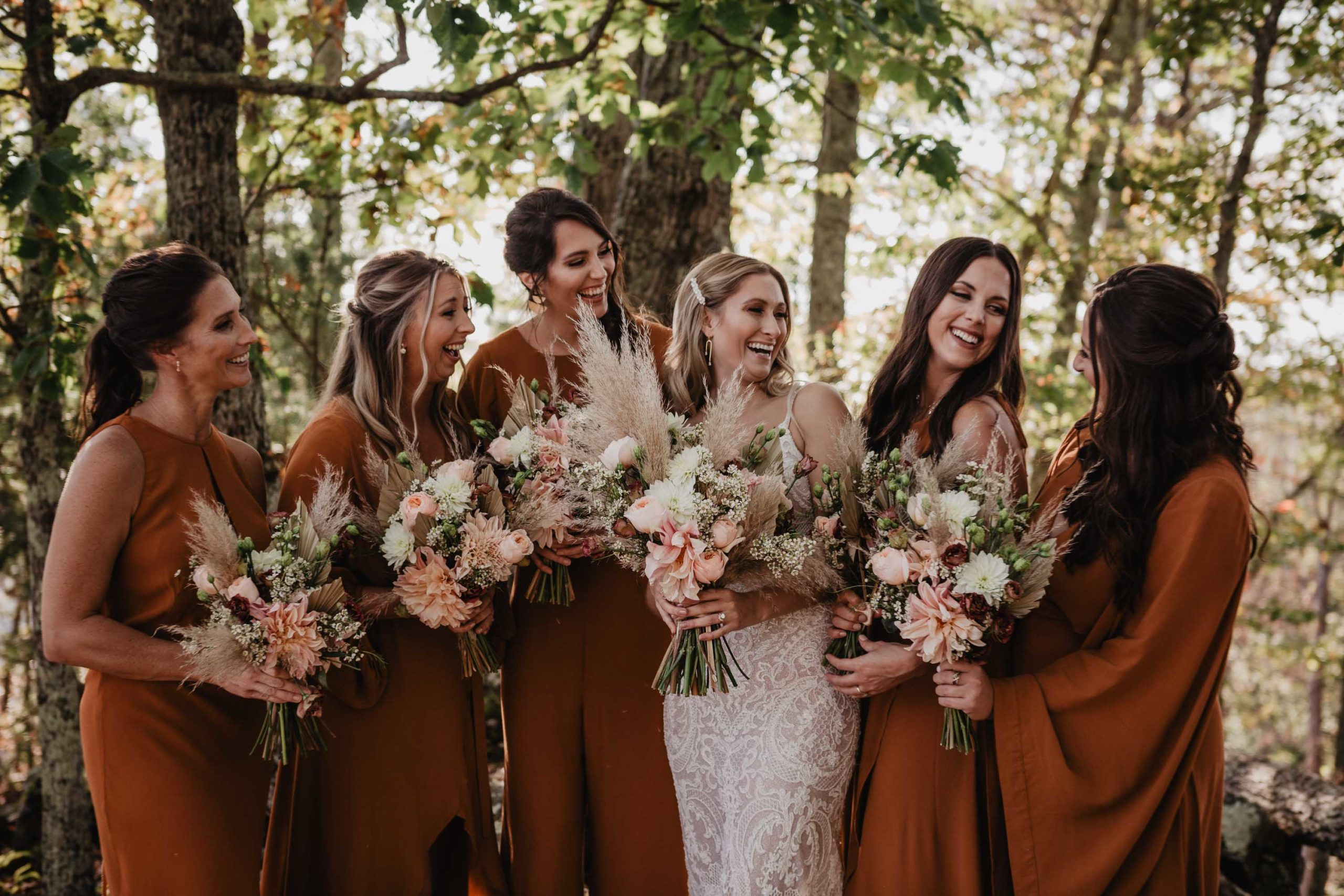leave her wilder bridesmaid dresses with bride