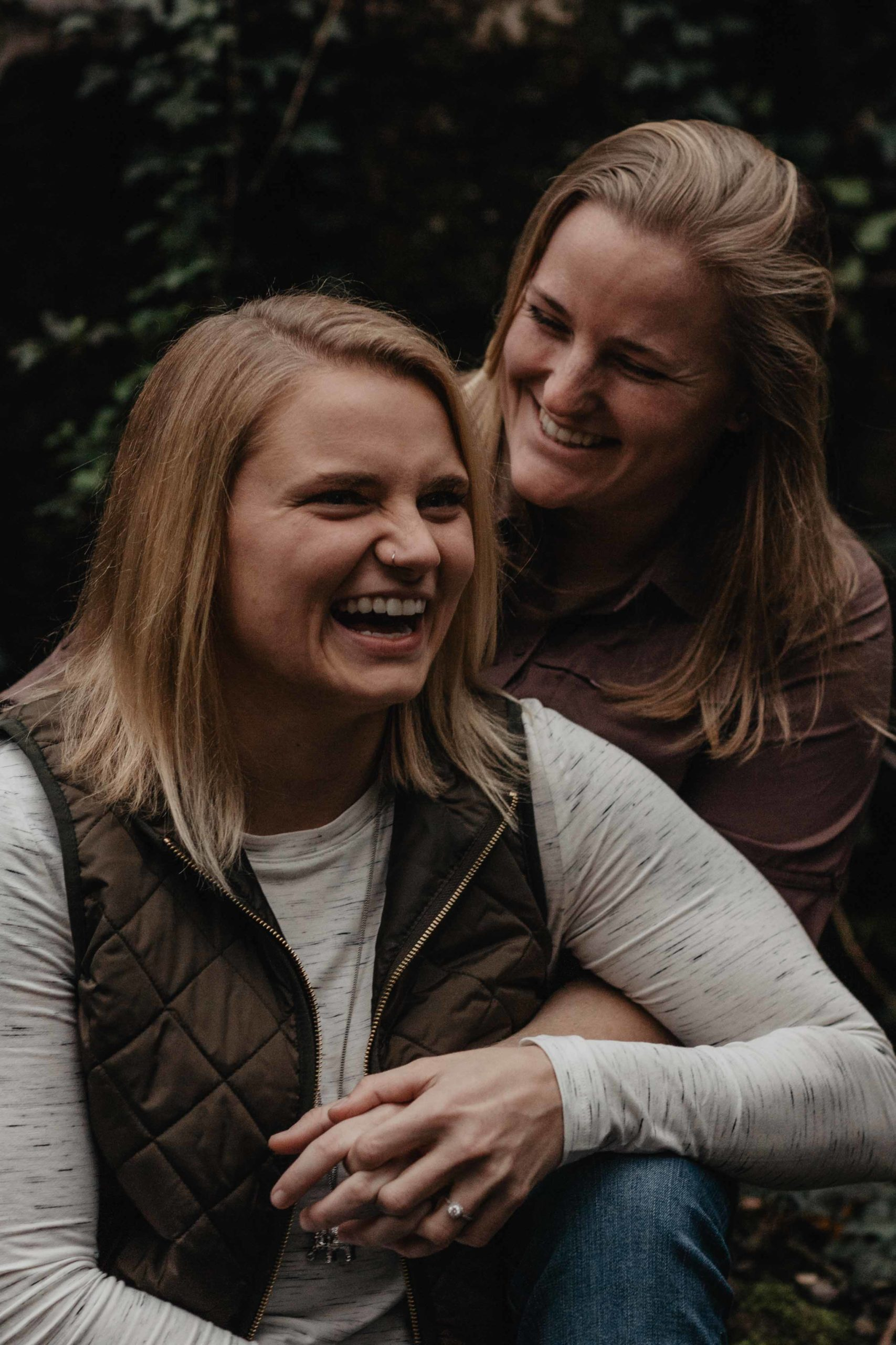 Engagement at Ijams Nature Center | LGBT Tennessee Wedding Photo