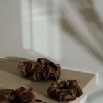 chocolate scrunchie