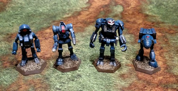 Battletech Assault Lance